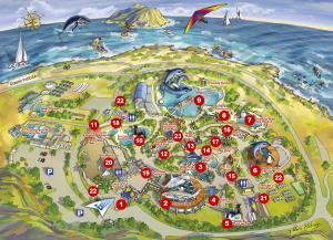 Sea Life Park Hawaii Map