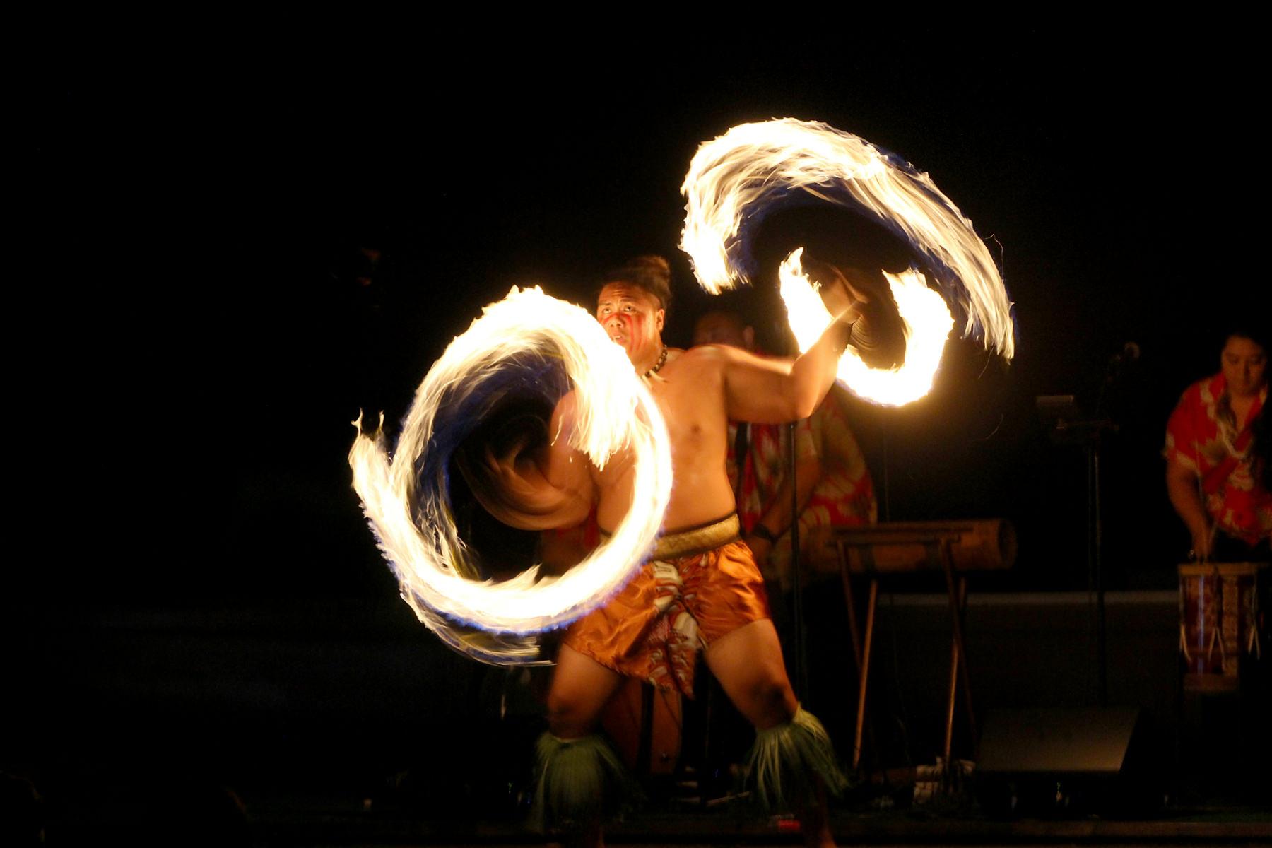 シーライフパークで開催されているルアウショー・カ モアナ ルアウ